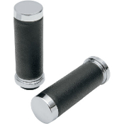 Textured Black Rubber Grips