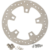 Stainless Steel Drilled Front Brake Rotor