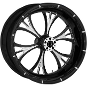 "One-Piece Forged Rear Aluminum Wheels- 18"" x 4.25"""