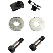 Secure Fit 2-Bolt HD Bag Fasteners Kit