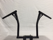 Wide bottom handlebars for wide bottom front ends