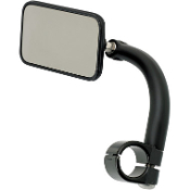 Rectangular Utility Mirrors w/Clamp-On Mounts