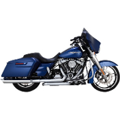 "PYTHON 3 1/2"" SLIP-ON MUFFLERS- Scalloped"