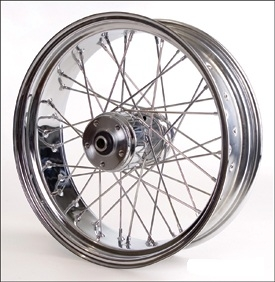 "18"" x 5.50"" with round spokes"